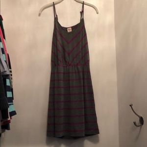 Mission Striped Mini Dress